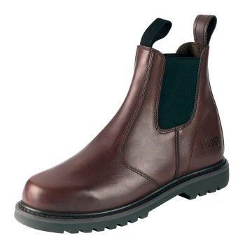 Hoggs of Fife Shire Non Safety Dealer Boot Brown Colour