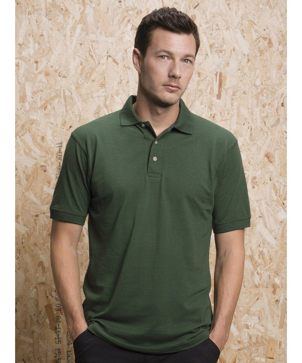 PPG Workwear Kustom Kit Workwear Polo Shirt KK400 Bottle Green Colour
