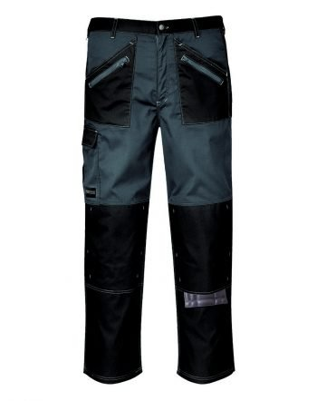 Portwest Chrome Trousers KS12 Black and Grey Colour