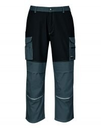 PPG Workwear Portwest Granite Trouser KS13 Grey and Black Colour