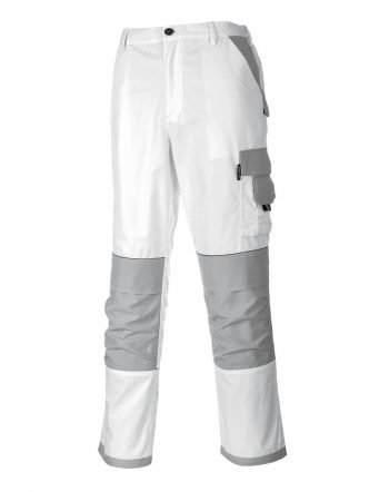 PPG Workwear Portwest Craft Trouser KS54 White and Grey Colour