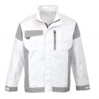 Portwest Craft Jacket KS55 White and Grey Colour