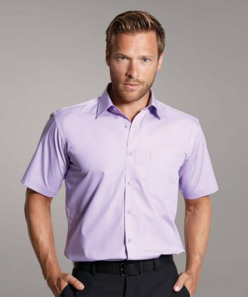 PPG Workwear Disley Mens Classic Collar Shirt lilac Colour