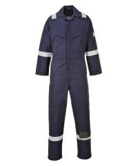 PPG Workwear Portwest Modaflame Flame Retardant Anti-Static Coverall MX28 Navy Blue Colour