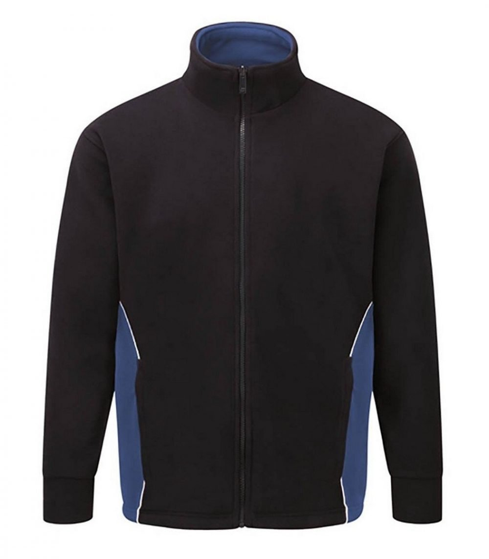 PPG Workwear Orn Silverswift Two Tone Premium Fleece 3180 Navy Blue and Royal Blue Colour