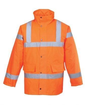 PPG Workwear Portwest Hi Vis Traffic Jacket RT30 Orange