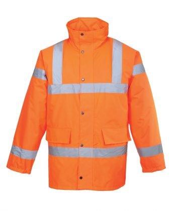 PPG Workwear Portwest Orange Hi Vis Traffic Jacket S460