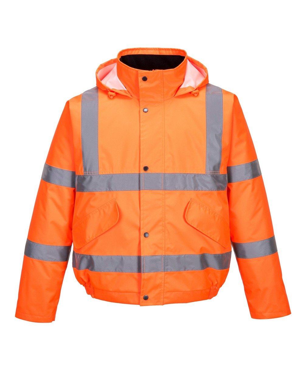 PPG Workwear Portwest Orange Hi Vis Bomber Jacket S463