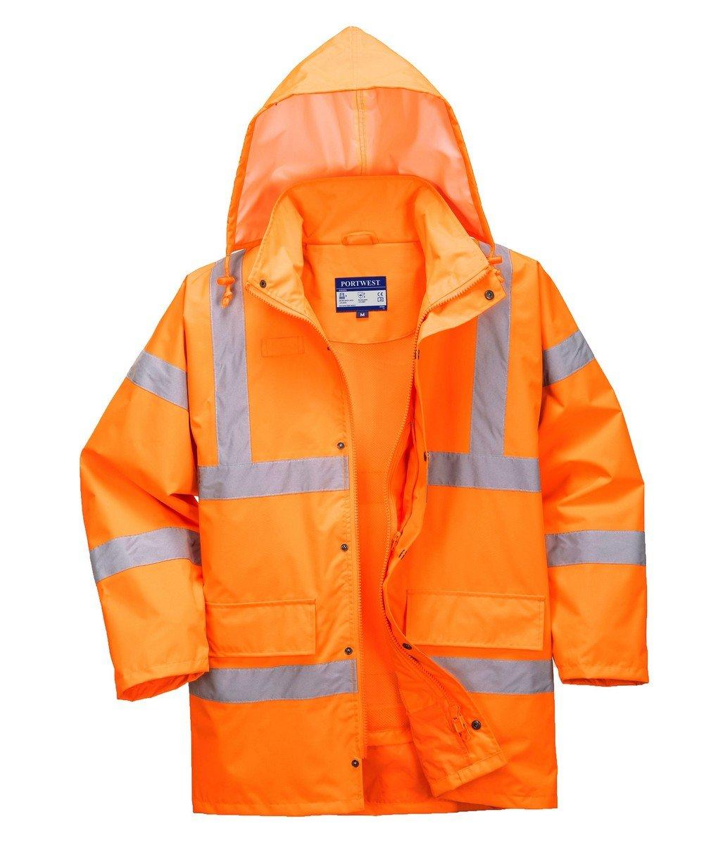 PPG Workwear Portwest Hi Vis Breathable Jacket RT60 Orange