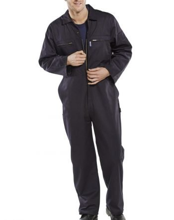Super Click Boilersuit PCBSHW Navy Blue Colour