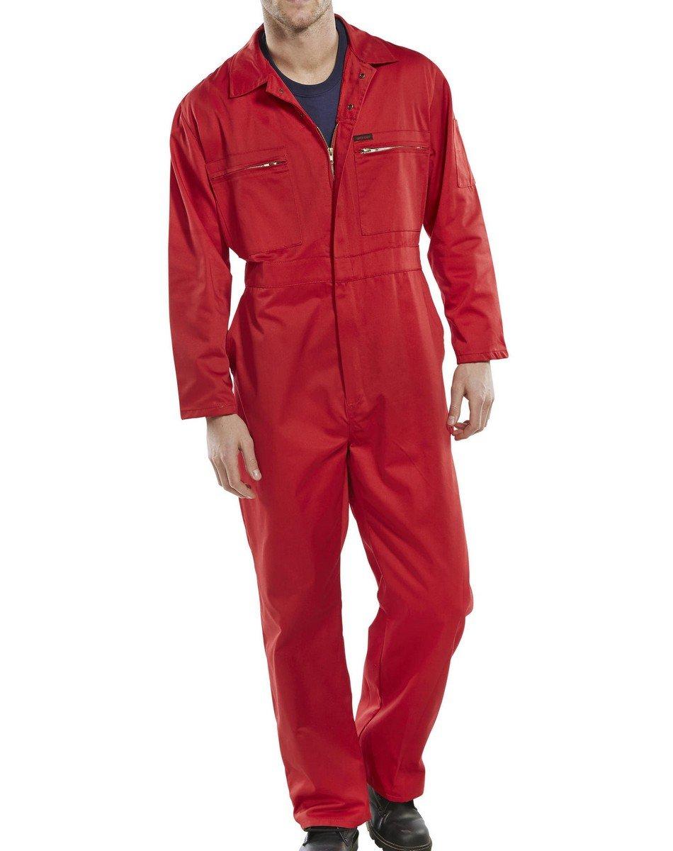 Super Click Boilersuit PCBSHW Red Colour