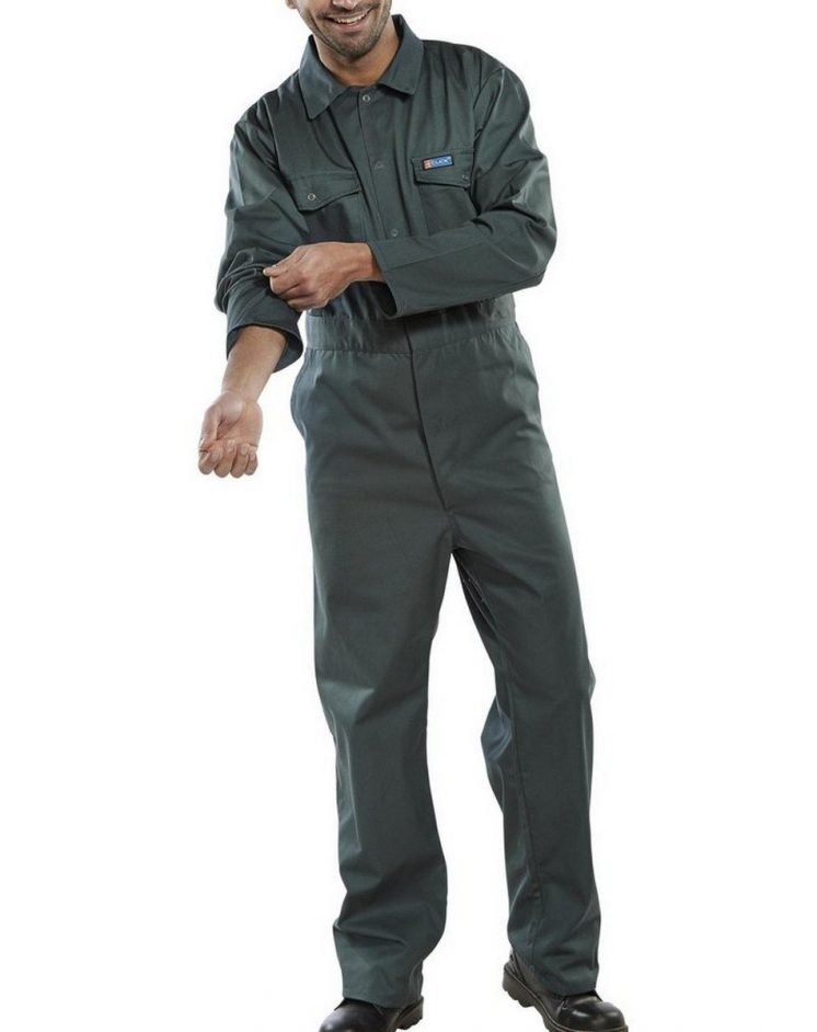 PPG Workwear Click Boilersuit PCBS Spruce Green Colour