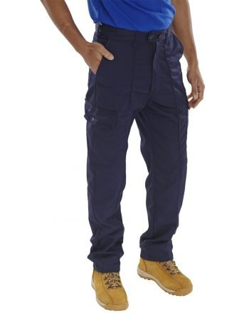 Super Click Drivers Trousers PCTHW Navy Blue Colour