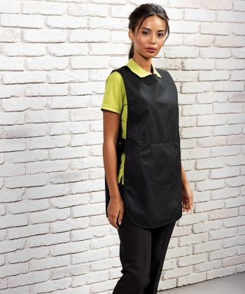 Premier Long Length Pocket Tabard PR172 Black Colour