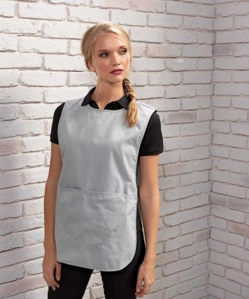 PPG Workwear Premier Pocket Tabard PR171 Silver Colour