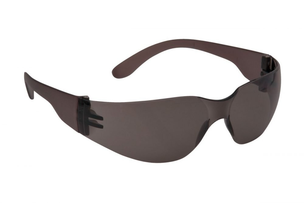PPG Workwear Portwest Wrap Around Safety Spectacle PW32 Smoke Colour