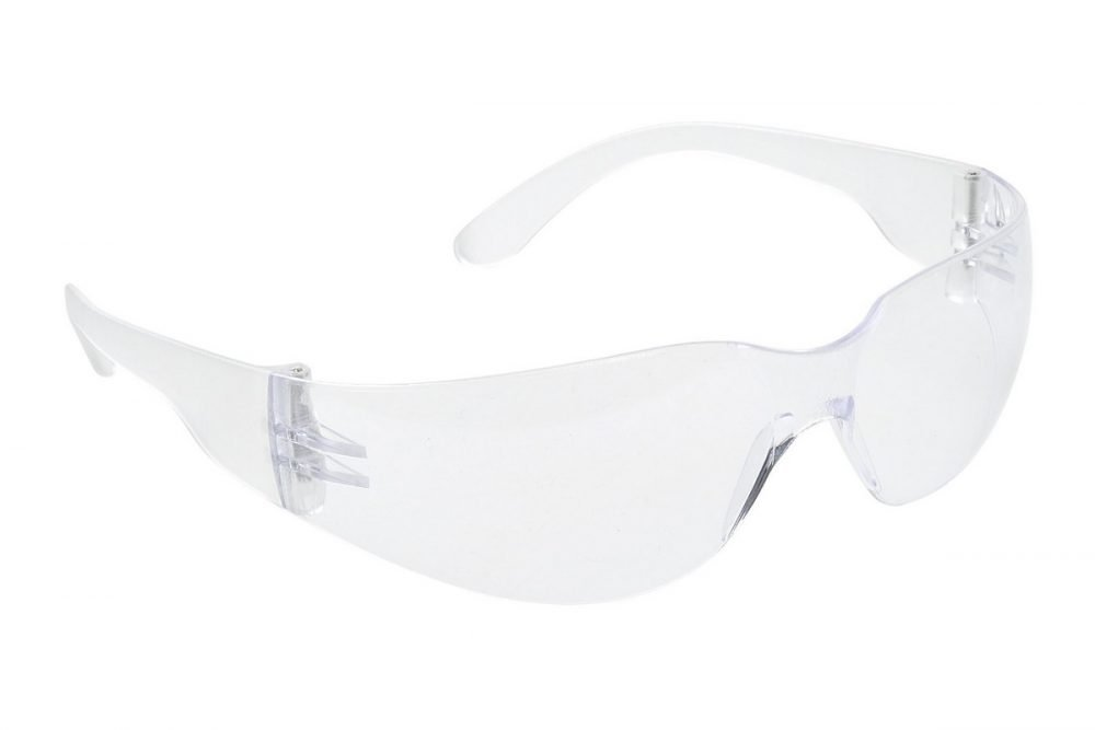 PPG Workwear Portwest Wrap Around Safety Spectacle PW32 Clear Colour