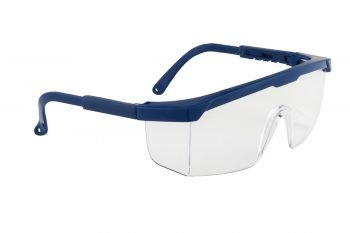 PPG Workwear Portwest Classic Safety Spectacle PW33 Blue Colour