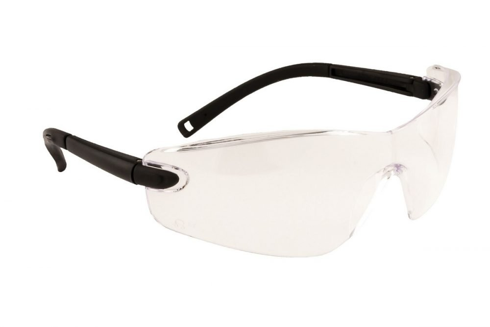 PPG Workwear Portwest Profile Safety Spectacle PW34 Clear Colour