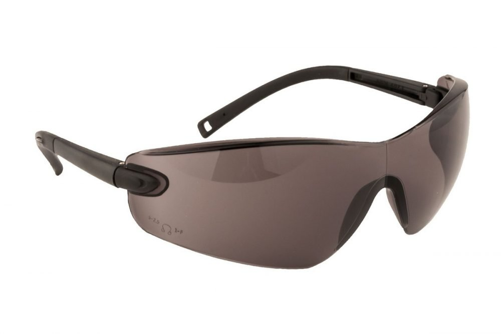 PPG Workwear Portwest Profile Safety Spectacle PW34 Smoke Colour