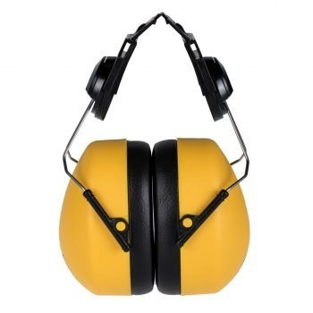 Portwest Clip-on Ear Protector PW42 Yellow Colour
