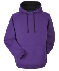 Papini Deluxe Adult Hoodie Purple and Black Colour