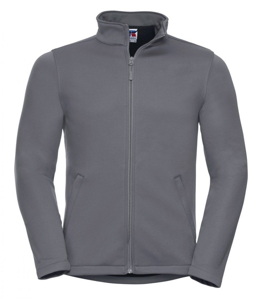 PPG Workwear Russell Mens Smart Softshell Jacket R040M Convoy Grey
