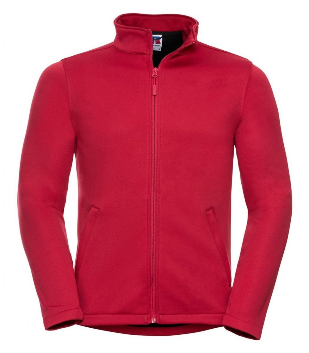 PPG Workwear Russell Mens Smart Softshell Jacket R040M Red Colour