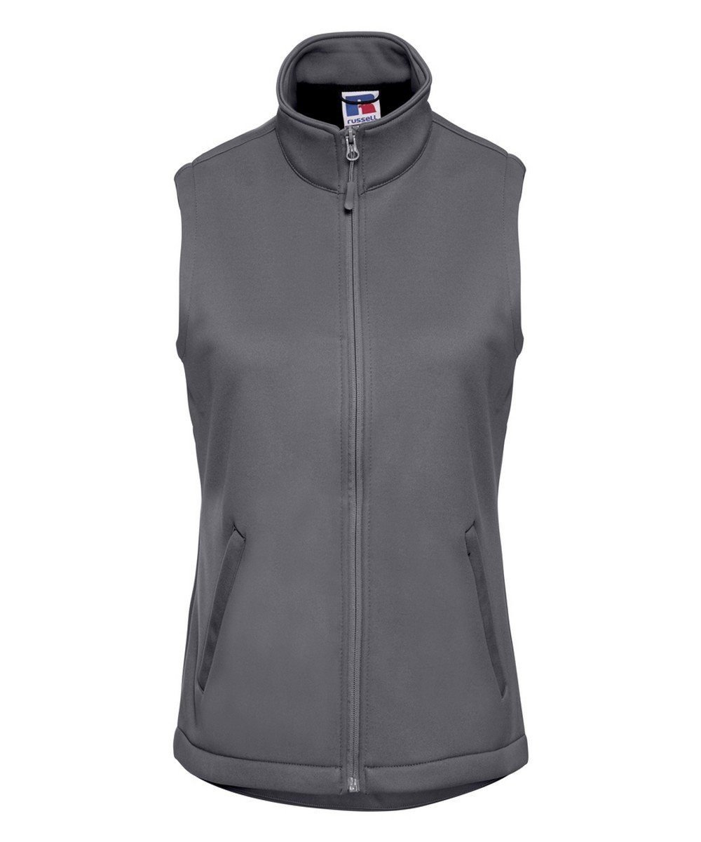 PPG Workwear Russell Ladies Smart Softshell Gilet R041F Grey Colour