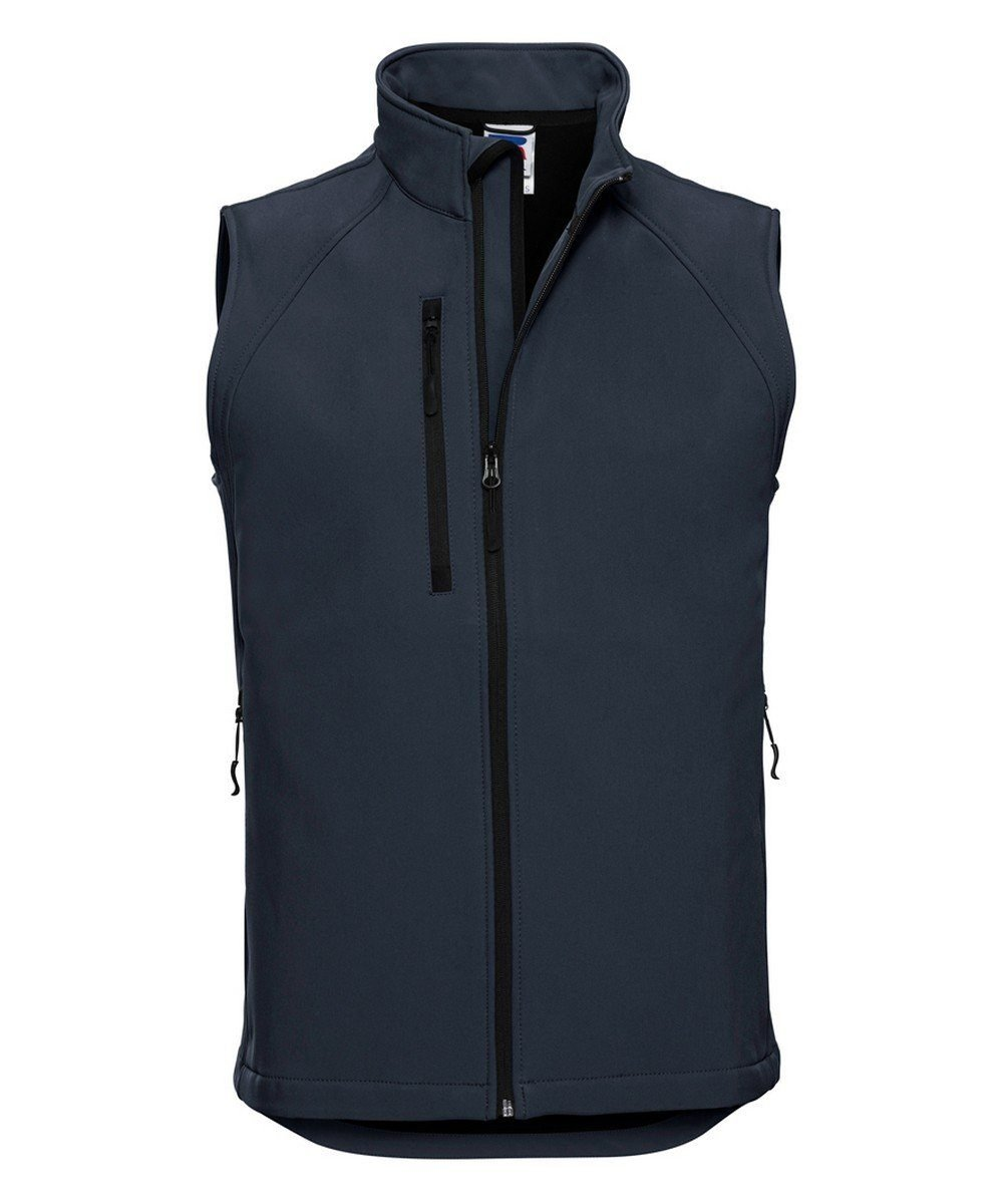 PPG Workwear Russell Mens Soft Shell Gilet R141M French Navy Colour