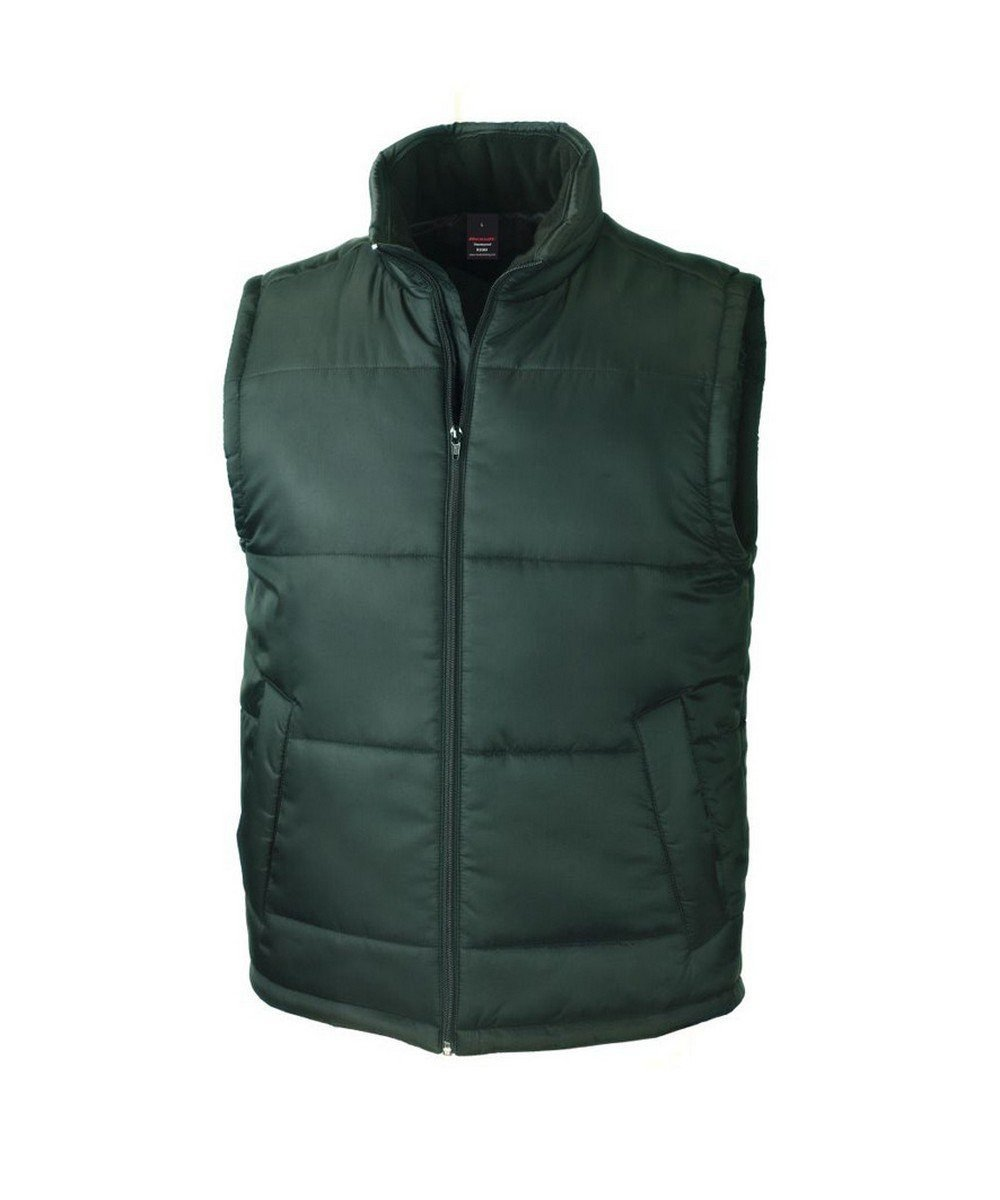 PPG Workwear Result Core Bodywarmer R208X Green Colour