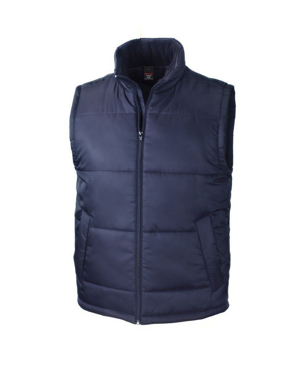 PPG Workwear Result Core Bodywarmer R208X Navy Blue Colour