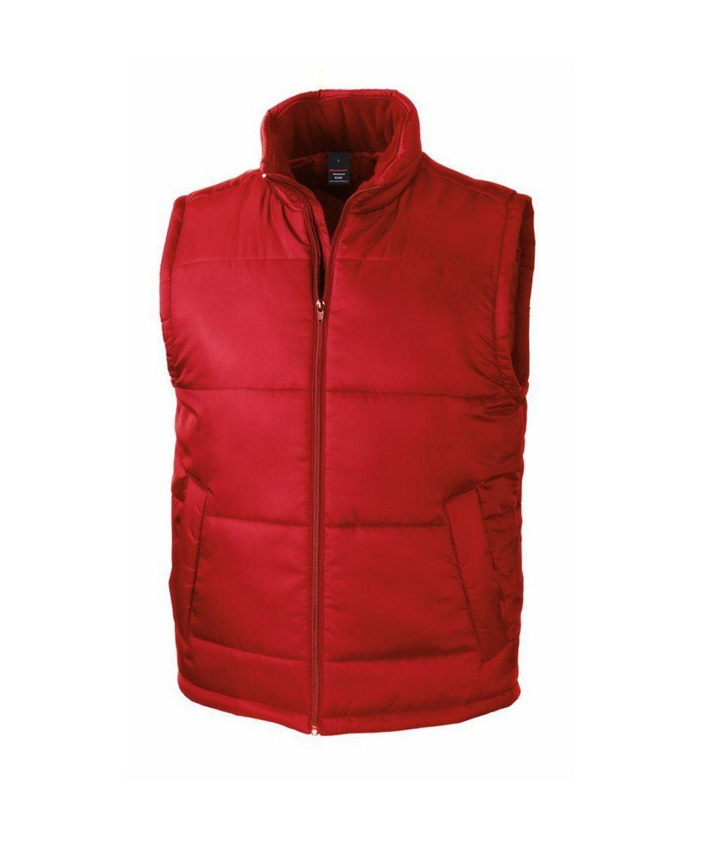 PPG Workwear Result Core Bodywarmer R208X Red Colour