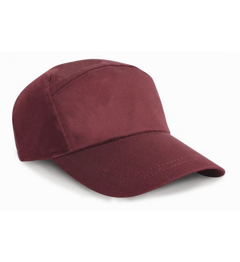 PPG Workwear Result Advertising Cap RC02 Burgundy Colour