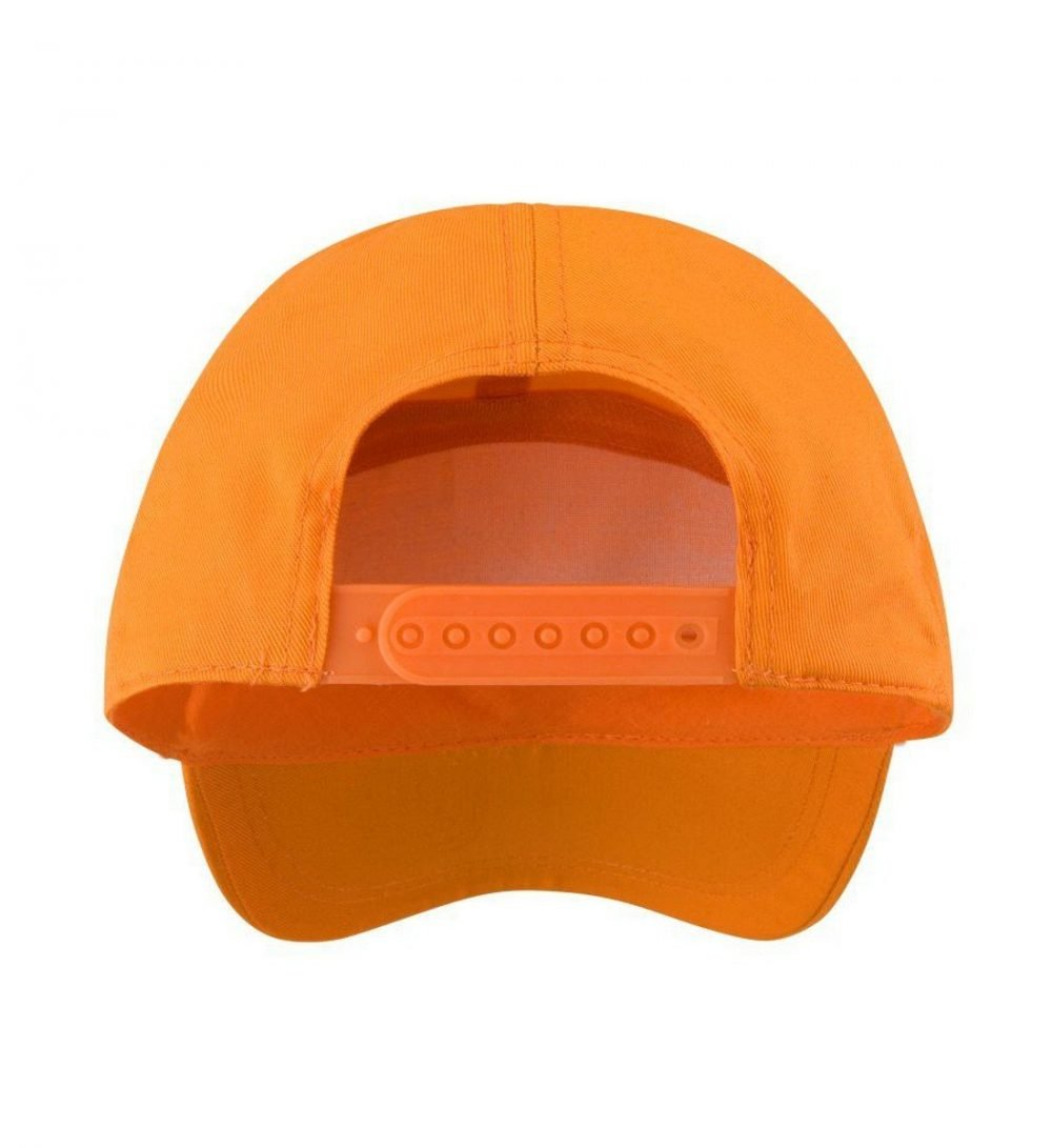 PPG Workwear Result Advertising Cap RC02 Orange Colour Back View