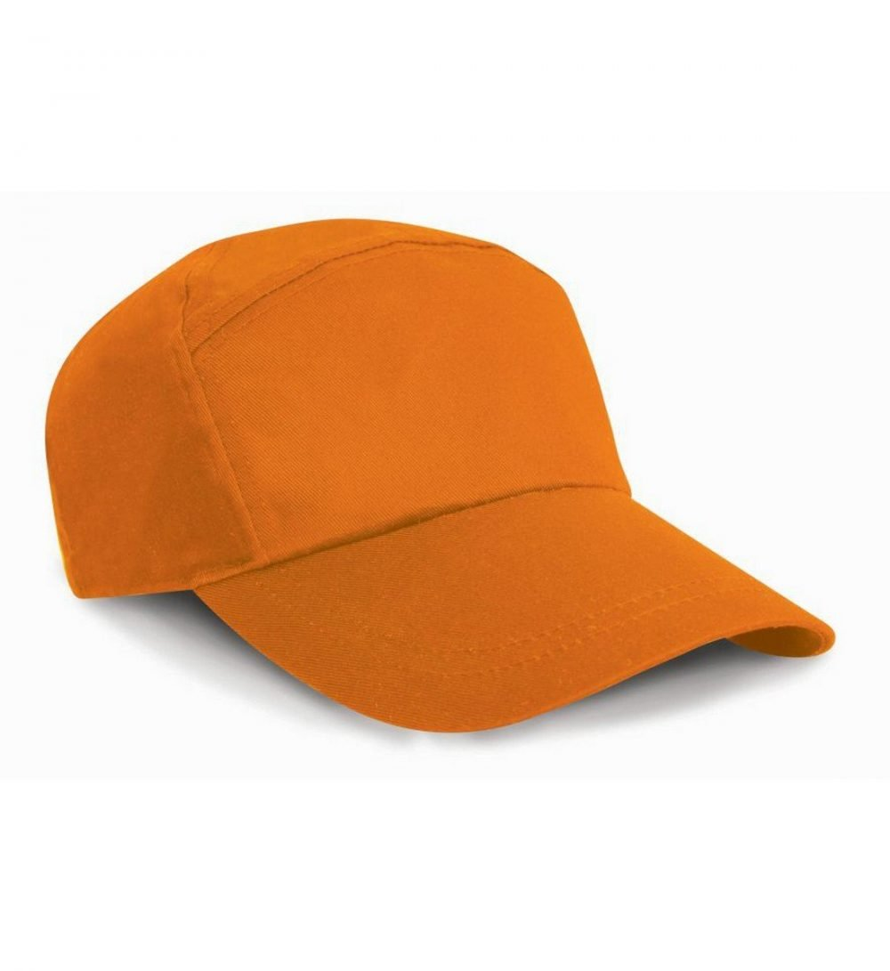 PPG Workwear Result Advertising Cap RC02 Orange Colour Front View