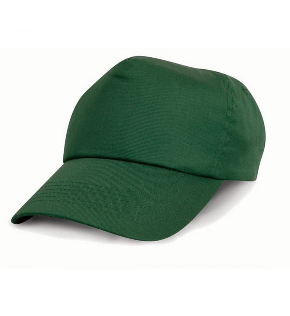 PPG Workwear Result Childrens Cotton Cap RC05J Bottle Green Colour