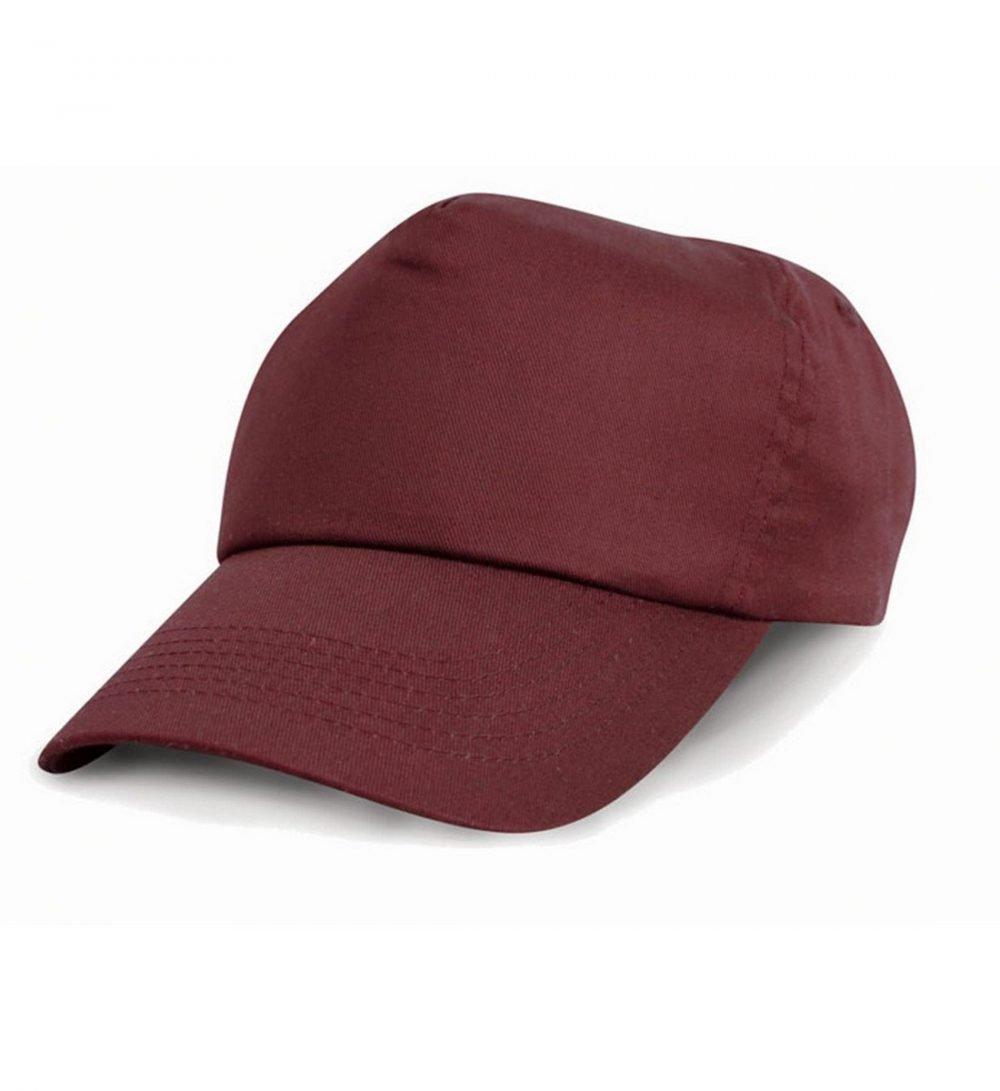 PPG Workwear Result Childrens Cotton Cap RC05J Burgundy Colour