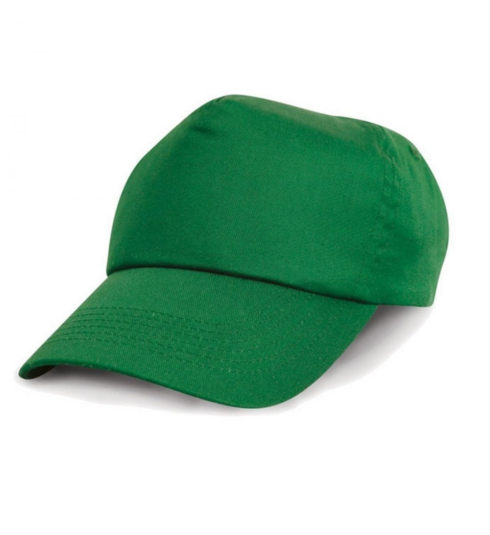 PPG Workwear Result Childrens Cotton Cap RC05J Kelly Green Colour