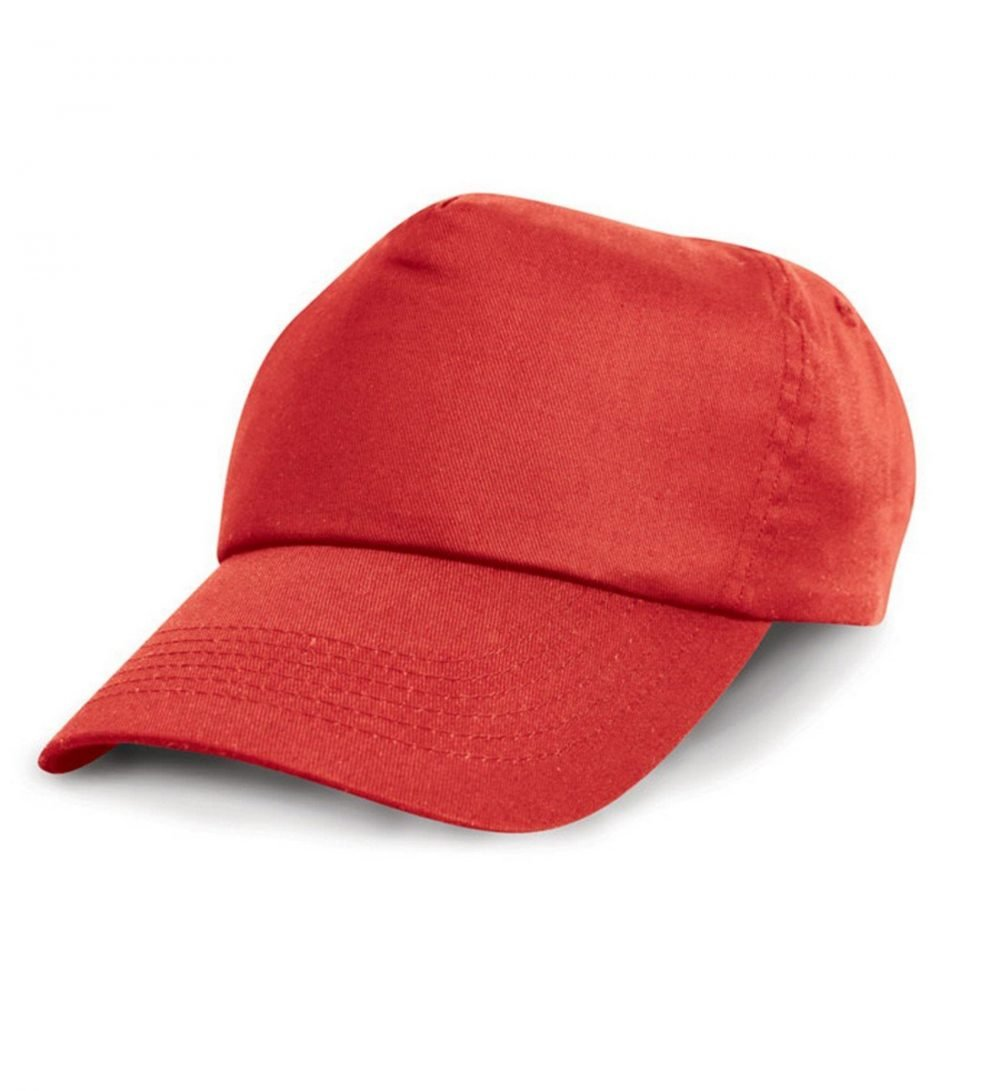 PPG Workwear Result Childrens Cotton Cap RC05J Red Colour