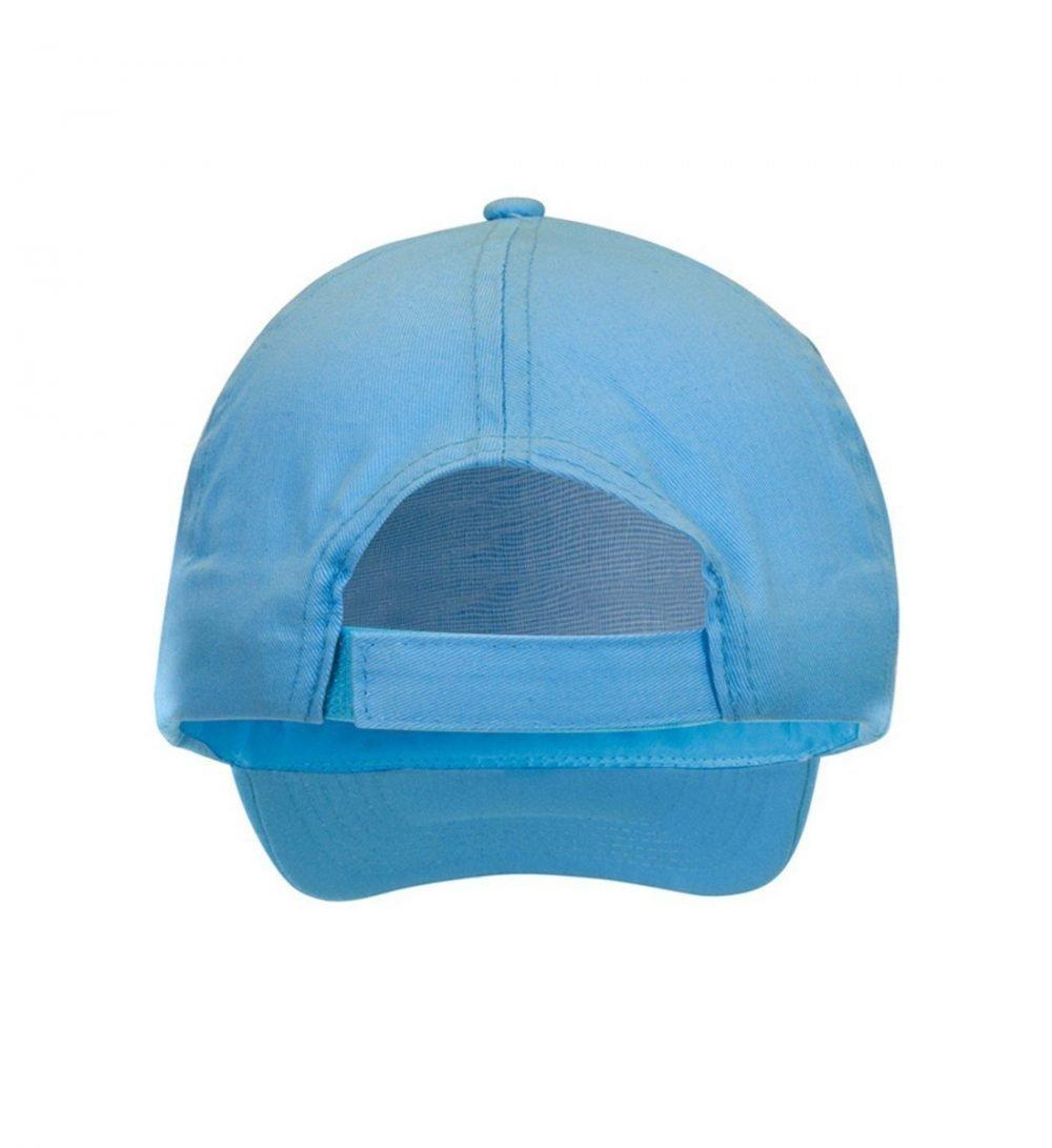 PPG Workwear Result Childrens Cotton Cap RC05J Sky Blue Colour Back View