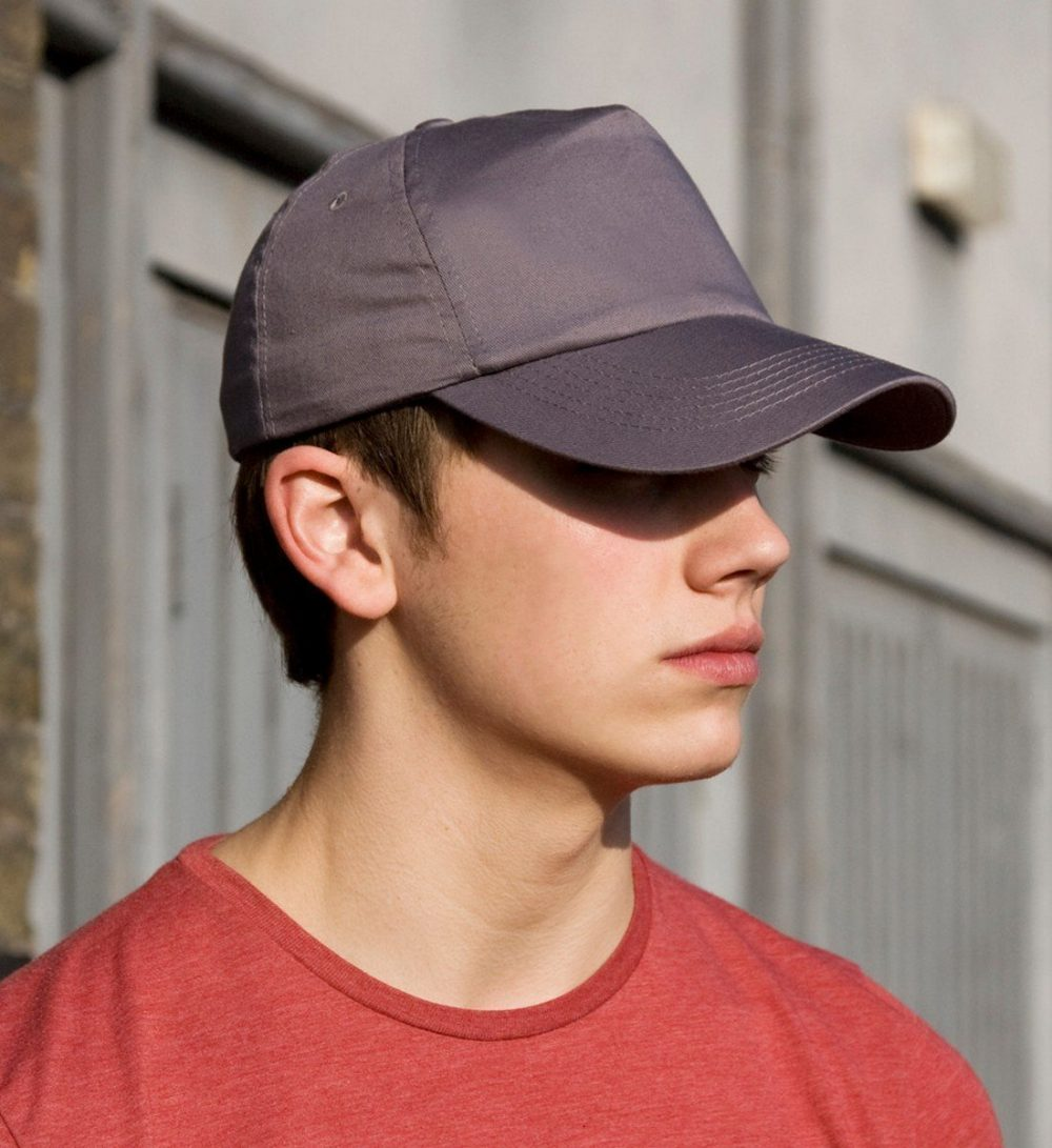 PPG Workwear Result Cotton Cap RC05 Model Wearing Cap