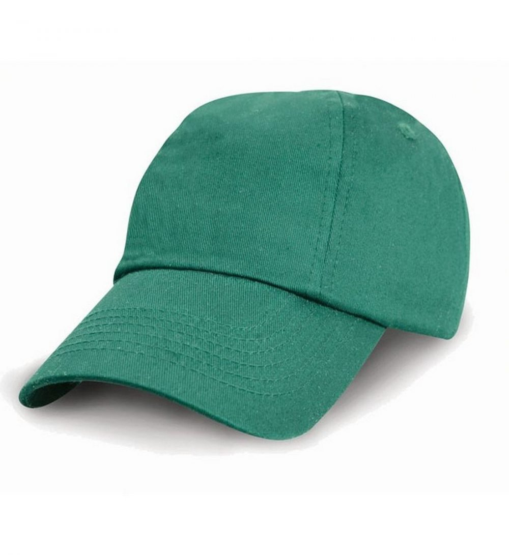 PPG Workwear Result Childrens Low Profile Cotton Cap Jade Colour