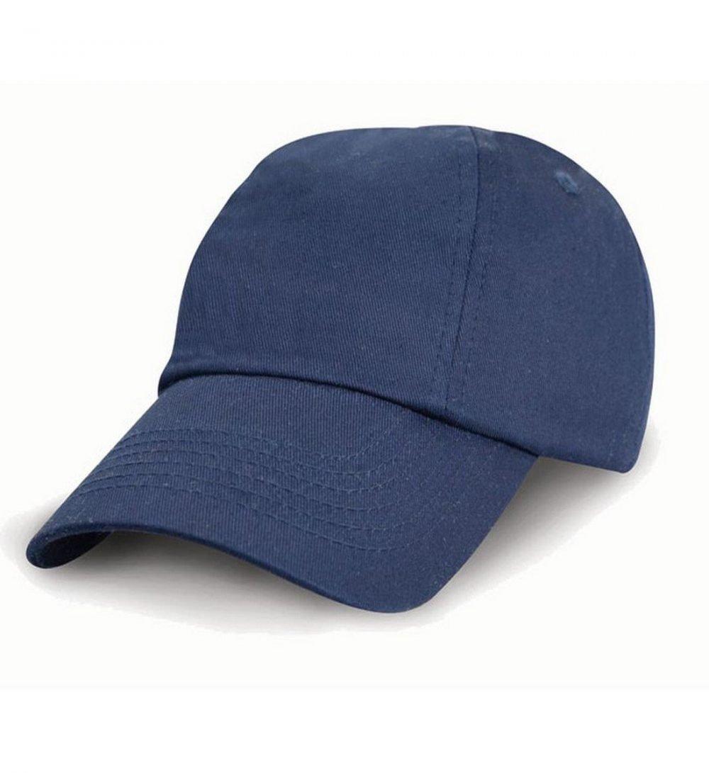 PPG Workwear Result Childrens Low Profile Cotton Cap RC18J Navy Blue Colour