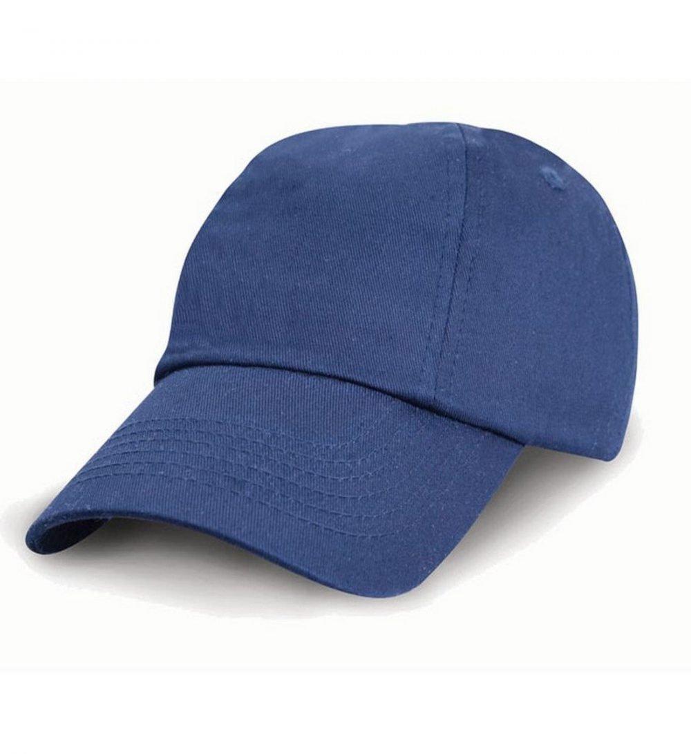 Result Childrens Low Profile Cotton Cap RC18J Royal Blue Colour