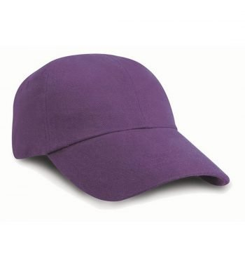 PPG Workwear Result Low Profile Heavy Brushed Cotton Cap RC24 Purple Colour