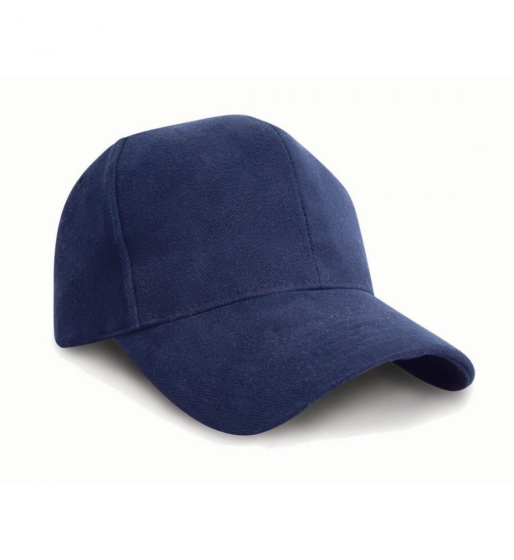 PPG Workwear Result Pro Style Heavy Brushed Cotton Cap RC25 Navy Blue Colour