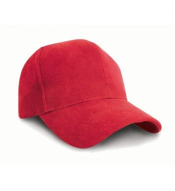 PPG Workwear Result Pro Style Heavy Brushed Cotton Cap RC25 Red Colour