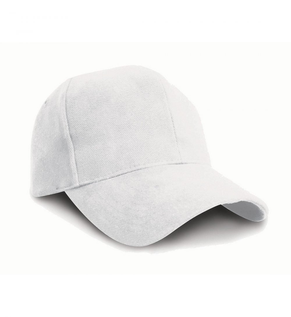 PPG Workwear Result Pro Style Heavy Brushed Cotton Cap RC25 White Colour