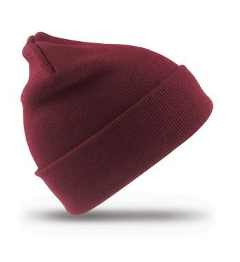 PPG Workwear Result Junior Woolly Ski Hat RC29J Burgundy Colour